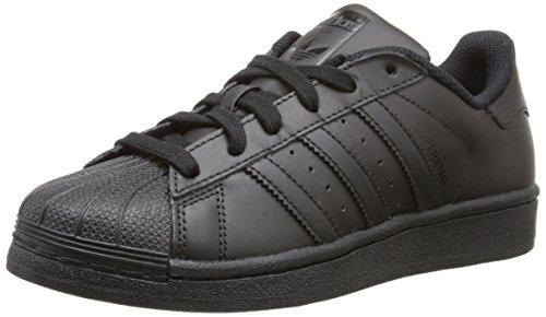 adidas Superstar Foundation, Sneaker Unisex-Adulto, Nero (Core Black/Core Black/Core Black 000), 38 2/3 EU