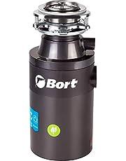 Bort Titan 4000 Plus - afvalverwijderaar (560 watt, 0,75 paardenkracht), roestvrijstalen keukenafvalverwijderaar, 1400 ml, bescherming tegen oververhitting, klemwrijving en overbelasting, geluidsbescherming, automatische uitschakeling
