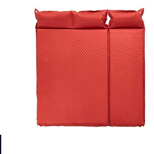 Colchonetas para Dormir Que Acampan Al Aire Libre Individual Cojín Inflable Automático Almohadilla Engrosamiento Cama Colchón Tienda De Campaña Almuerzo Alfombrilla De Ocio D