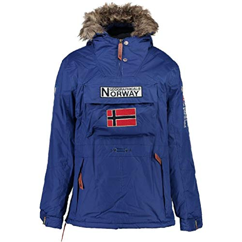 Geographical Norway Parka BOOMERANG hombre AZUL ELÉCTRICO talla L