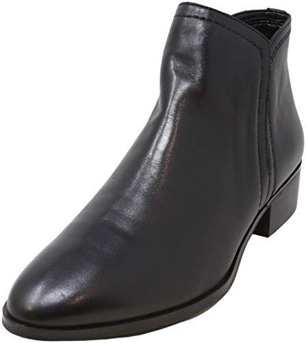 ALDO Women's Kaicien Ankle Boot, Black Smooth, 10
