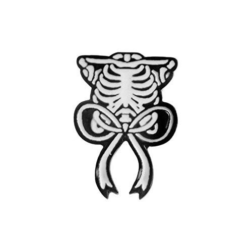 Emaille Pins Abzeichen Dosen Birne Büroklammer Zitronentränen Sensenmann Grabstein Sarg Brustkorb Schädel Brosche Pin Für Frauen Männer Kinder, Brustkorb