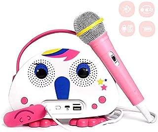 Karaoke Bluetooth Machine for Kids with Microphone Karaoke Players Wireless Children's Singing Karaoke Speaker Indoor Outdoor Travel Activities Party Christmas Birthday Gift for Children Toddlers