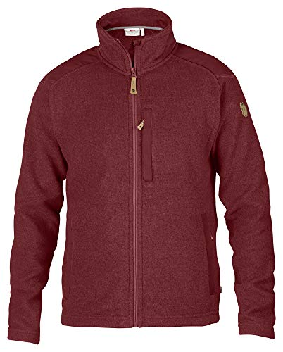 FJALLRAVEN Buck Fleece Jacke für Herren L Red Oak
