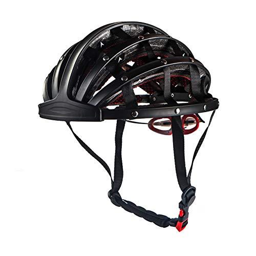 FENGE Opvouwbare Fietshelm Heren Fietshelmen Ultralight Fietshelm Road Mountainbike Helmen voor Vrouwen met 30 Air Vents Lichtgewicht, Zwart