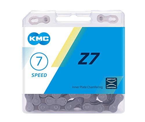 KMC Unisex– Erwachsene Z7 7-Fach Kette 1/2