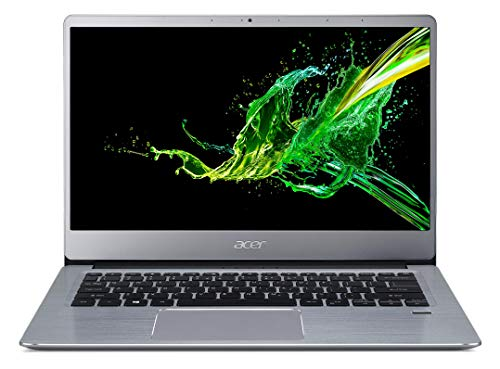 Acer Swift 3 31441R1X6 Ordinateur portable 14'FHD Gris (AMD Ryzen 5, 8 Go de RAM, SSD 512Go, AMD Radeon Vega 8 Graphics, Windows 10) Ancien Modèle