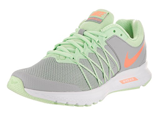 Nike - Wmns Air Relentless - 843882008 - Color: Gris-Naranja-Verde - Size: 39.0