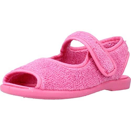 Vulladi Zapatillas Casa 3106 052 para Niñas Rosa 22 EU