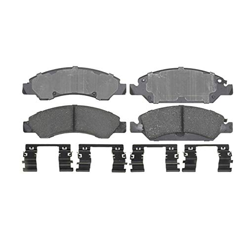 ACDelco Gold 17D1367CH Ceramic Front Disc Brake Pad Set