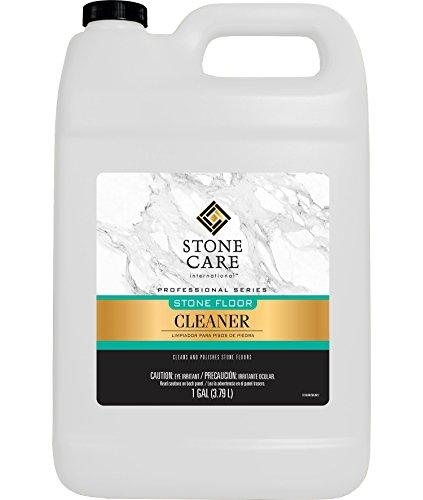 Stone Floor Cleaner - 128 Ounce - Stone Care International - Sealed Granite Laminate Marble Quartz Travertine Limestone Slate Tile etc