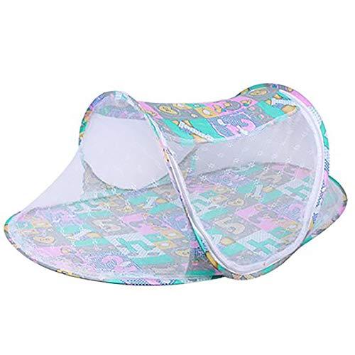 WEIXINMWP Newborn Child Bed Mosquito Net Cover Dobling Mosquito Net Baby Yurt Mosquito Neto Instalación Gratuita de Baby Mosquito Net,2,100 * 60 * 45cm