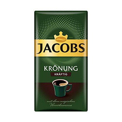 Jacobs Filterkaffee Krönung Kräftig, 500 g gemahlener Kaffee