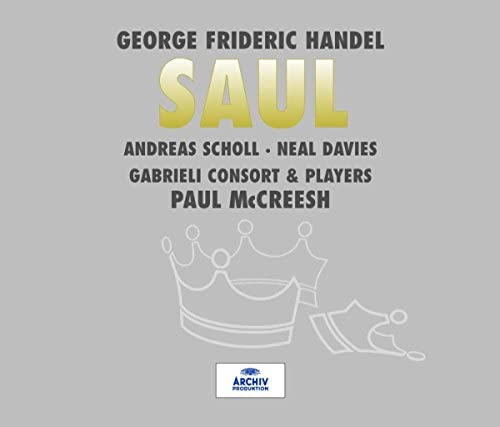 Gabrieli Consort, Gabrieli Players, Paul McCreesh & George Frideric Handel
