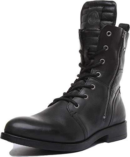 Replay Damen Kennedale Biker Boots, Schwarz (Black 3), 39 EU