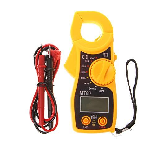 Qintaiourty - Multímetro MT87 LCD Digital Clamp Meters Multímetro Medidor Herramientas AC/DC Voltage Tester Current Resistance Tester Metros New 2019