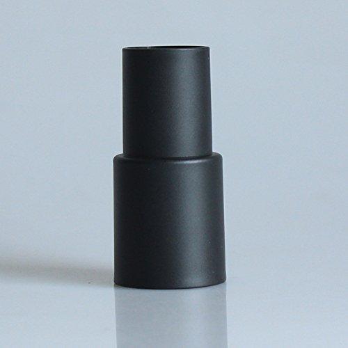 FLOX Adaptador Manguera aspiradora 32 mm a 35 mm Piezas convertidor aspiradora plástico Universal Accesorio para aspiradoras extracción Polvo Herramienta Principal