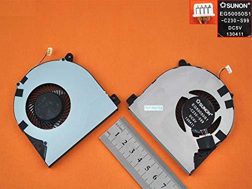 Kompatibel für Lenovo Ideapad S500 Lüfter Kühler Fan Cooler