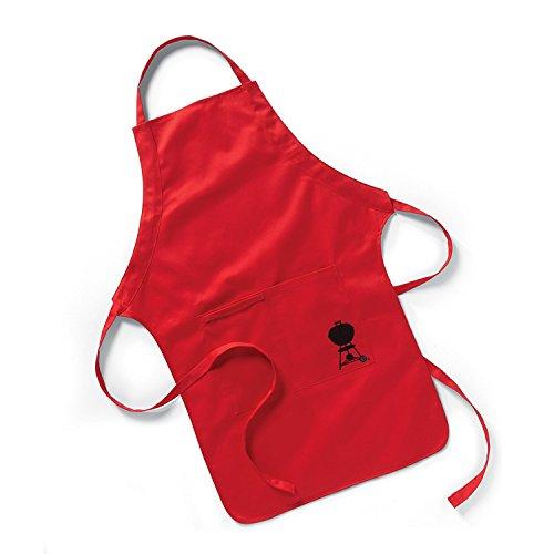 delantal rojo fabricante Weber