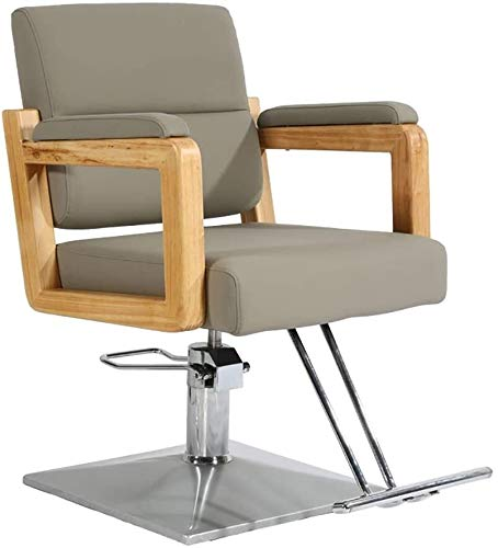 Las sillas de oficina Sillas de elevación hidráulica giratoria de oficina Silla giratoria Silla de escritorio del ordenador for sillas de peluquería de la belleza del salón Silla giratoria Silla de pe