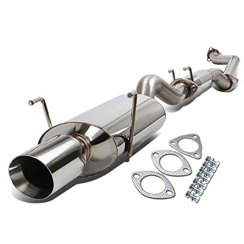 DNA Motoring CBE-OE-ARSX-S-NRT Stainless Steel Catback Exhaust System
