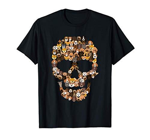 Crneo de perro - Disfraz de esqueleto de cachorro Camiseta