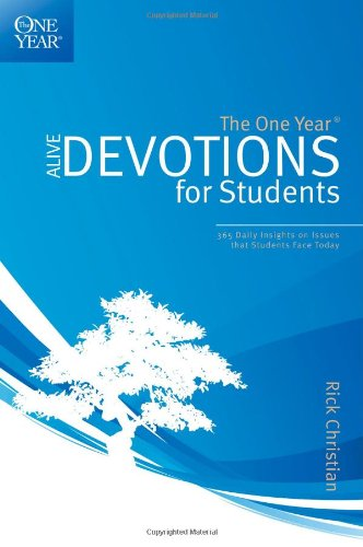 The One Year Alive Devotions for Students