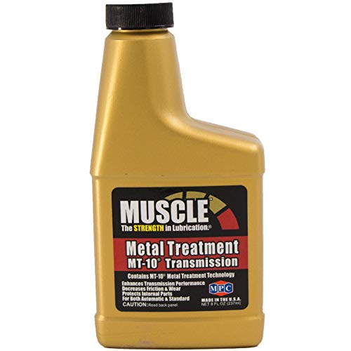 Muscle Metal Treatment MT-10 Transmission, 8 Fluid Ounces, Anti-Friction Lubricant Additive