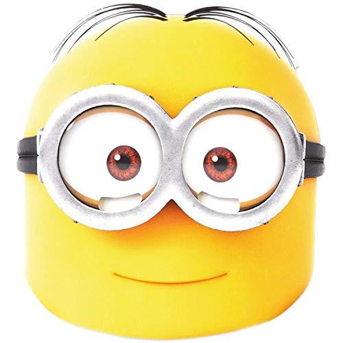 Masque en Carton Dave Minion - Moi, Moche et Méchant- - Taille Unique