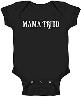 Mama Tried Retro Country Infant Baby Boy Girl Bodysuit