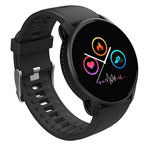 HehiFRlark W9 - Reloj inteligente para mujer, moderno, deportivo, monitor de tiempo de sueño, frecuencia cardiaca