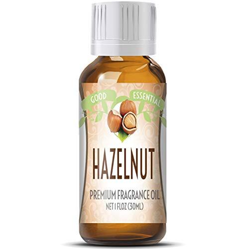 Hazelnut Scented Oil by Good Essential (Huge 1oz Bottle - Premium Grade Fragrance Oil) - Perfect for...