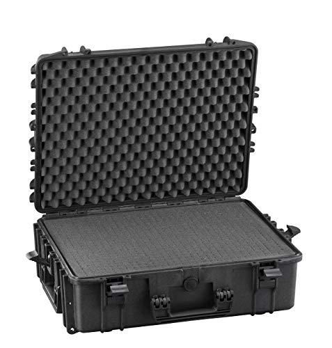 Max MAX540H190S IP67 resistente al agua nominal de tapas rígidas para fotografía equipo estanca resistente de transporte Transit plástico funda/espuma de poliuretano de/caja de transporte para iMac caja de herramientas