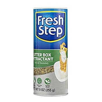 Fresh Step Litter Box Attractant Powder to Aid in Training 9 Ounces | All Natural Training Aid for Cats and Kittens | Cat Attract Litter Additive for Litter Box
