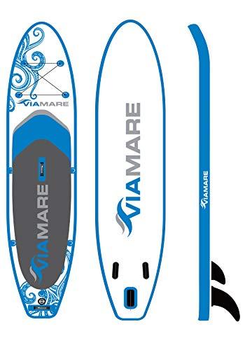 VIAMARE SUP Board Set 330 S Octopus Blue