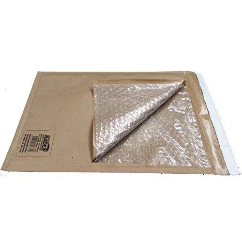 Envelope Bolha Postbolha N.6, Papel Kraft, 19x25, Pacote de 5, radex