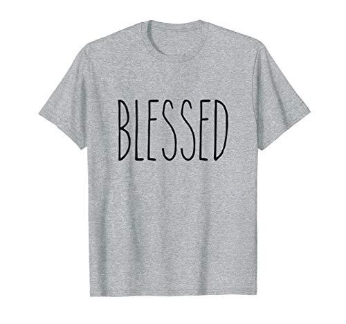 Dunn Mug Style Blessed Holiday Women Girls Christmas Rae T-Shirt