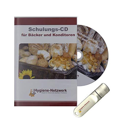 Hygiene Netzwerk Hygiene Schulung   Infketionsschutzgesetz Schulungsunterlagen   zur Folgebelehrung   Hygieneschulung   Personalschulung für Bäcker   Power-Point-Präsentation auf CD oder USB-Stick