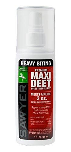 Sawyer Products SP713 Premium Maxi DEET, 100% DEET Insect Repellent, Pump Spray, 3-Ounce