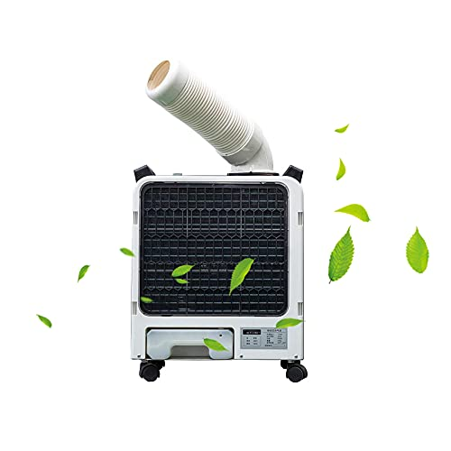 Enfriador de aire portátil, grado industrial, enfriamiento, deshumidificación, 6000BTU para el hogar, dormitorio, oficina, dormitorio