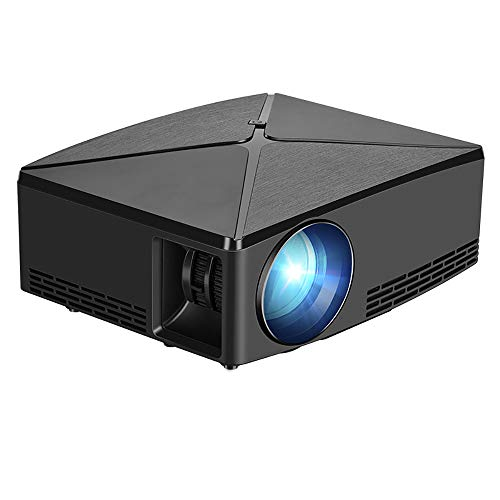 ELK 2200 Lumens LCD Mini Projector, Portable Home Theater Projector Support 1080P HDMI USB AV DC VGA for TV Laptop Game Iphone Andriod Smartphone