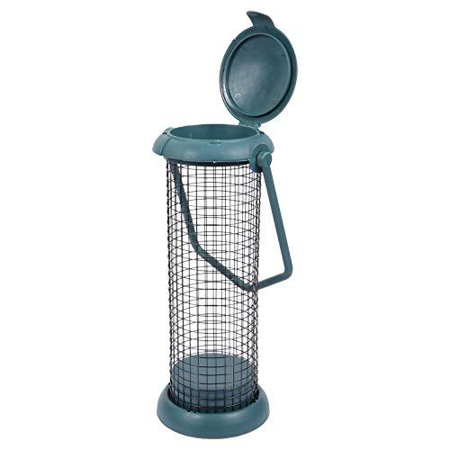 Yardwe Wildvogel Futterröhre Vogelhäuschen Hängenden Vogelhalter Garten Vogel Futter Fütterung Käfig Container für Die Vogelbeobachtung im Freien