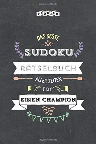 Das beste Sudoku Rätselbuch aller Zeiten für einen Champion