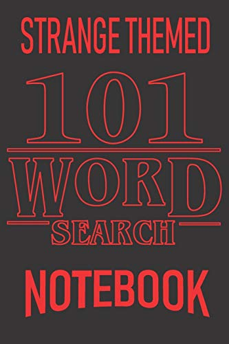 101 Word Search: Popular TV Show Words, Tribute Puzzles. All Ages USA Edition. Gift this strange thing to friends, fans that marvel popular TV series ... time!: 3 (Strange Things Word Search)