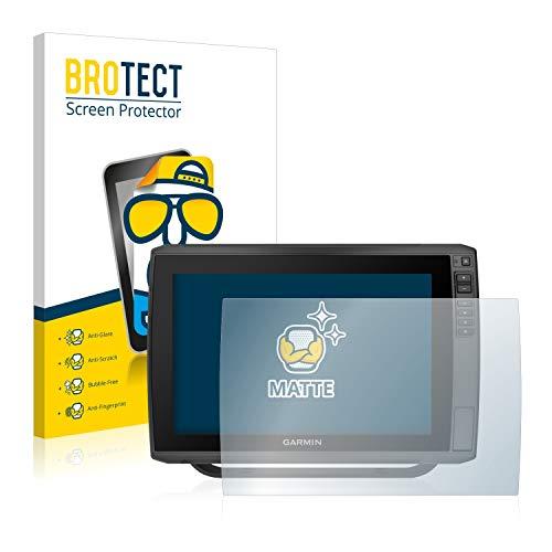 BROTECT Entspiegelungs-Schutzfolie kompatibel mit Garmin echoMAP Ultra 122sv Bildschirmschutz-Folie Matt, Anti-Reflex, Anti-Fingerprint