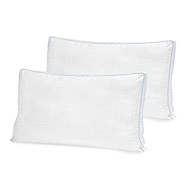 BioPEDIC Gel Fusion Cooling Hypoallergenic Pillow (2 Pack), King