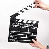 Dongbin Acrilico plastica Colour Scene Direttore Pannelli di Rivestimento, Bianco/Nero bastoni per TV/Puntelli Taglio del Film Film d'azione utilizzati per/pubblicità,C