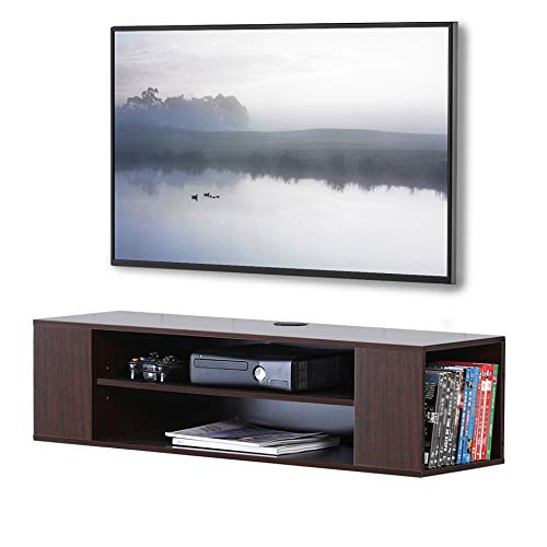 FITUEYES Wall Mounted Media Console Modern Floating TV Stand...