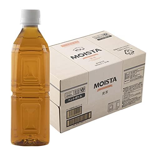 [Amazon限定ブランド] MOISTA ラベルレス 麦茶500ml ×24本 デカフェ・ノンカフェイン