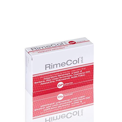RimeCol® Plus integratore Nutraceutico utile a favorire il controllo fisiologico del colesterolo plasmatico e dei Trigliceridi. Contiene Monacolina K 10 mg